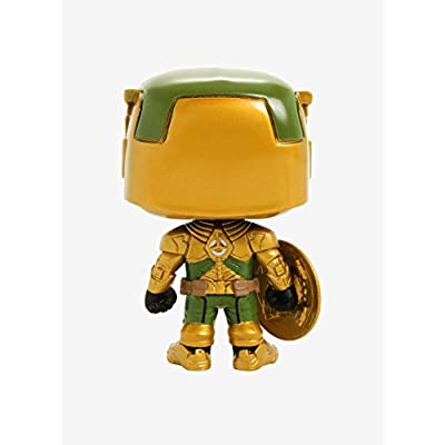 Funko Contest of Champions POP Games Civil Warrior Vinyl Bobble Head #299 [Glow-in-the-Dark]: Toys & Games