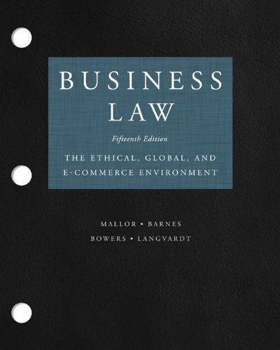 Loose-Leaf for Business Law
