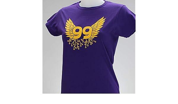 Angel 99. Camiseta morada chica: Amazon.es: Handmade