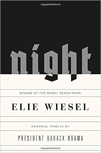 elie wiesel writing style
