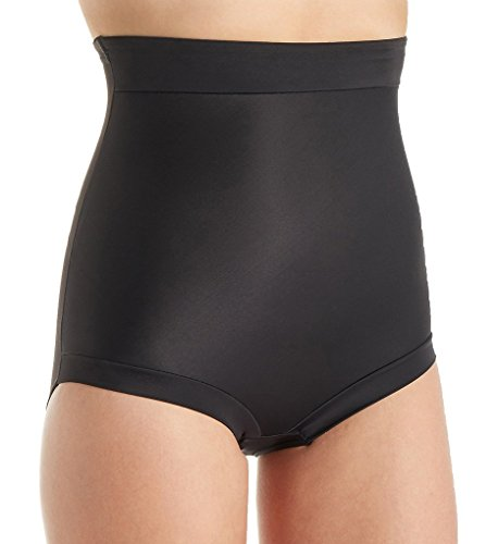 TC Fine Intimates Luxurious Comfort Firm Control Brief, M, Black