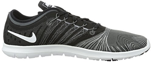 Nike White Shoe Dark Training Cross Adapt Stealth Flex Black TR Women's Grey BqArBwS
