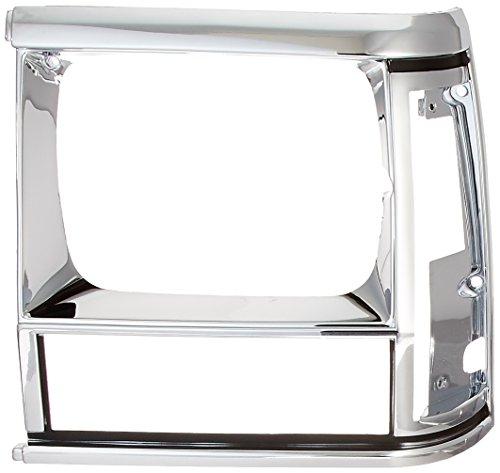 91 jeep cherokee headlight bezel - 4