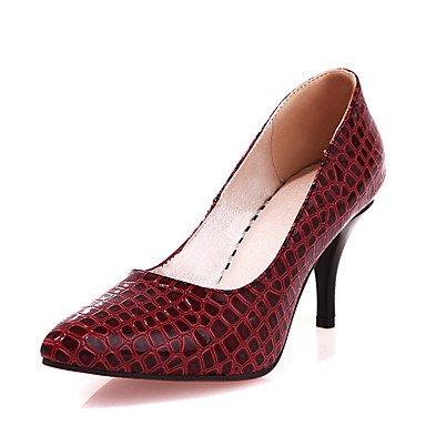 Zormey Tacones Mujer Primavera Verano Zapatos Formales Polipiel Oficina &Amp; Carrera Parte &Amp; Traje De Noche Stiletto Talón US3.5 / EU33 / UK1.5 / CN32