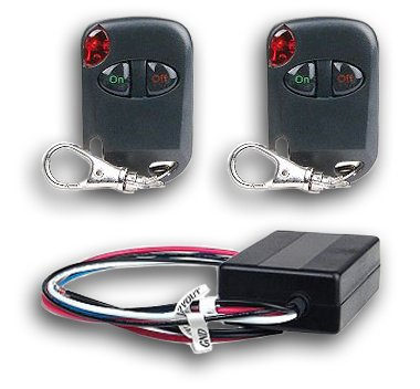 Heavy Duty Universal 12 Volt Remote Control Kit