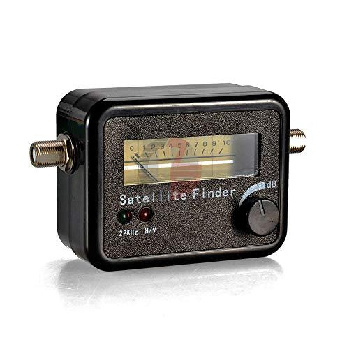 Digital Satellite Finder Alignment Signal Satfinder Find Meter LNB Dish DirecTV Network Satellite Dish with Buzzer Light (Lnb Tv)