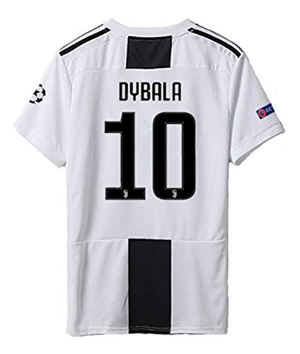 d10d8158550 brave Yang Juventus 18-19 Season  10 Dybala Home Men s Soccer Jersey    Armbands Size L