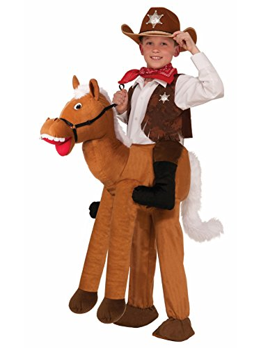 Forum Novelties Ride-A-Horse Costume, One (Cowboy And Horse Costume)