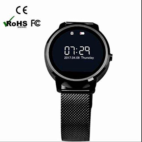 V360 Bluetooth Smart Watch, Android Smartwatch, iPhone inteligente reloj, Bluetooth Smart Watch con dormir Monitor, tensiómetro de medición, Rastreador de ...