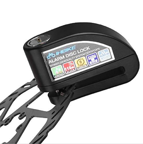 Bici e Scooter Lucchetto Antifurto Moto Lucchetto Bloccadisco Allarme Sonoro 110DB per Moto
