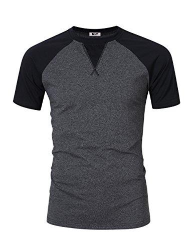 mrwonder-men-casual-slim-fit-short-sleeve-t-shirt-contrast-color-raglan-shirts-dark-grey-xl