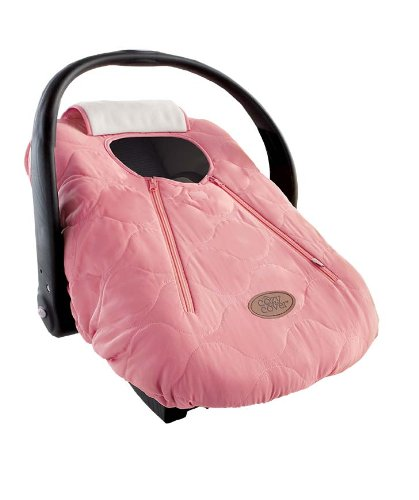 Canopy Infant Blankets (Cozy Cover Infant Car Seat Cover (Pink Quilt) - The Industry Leading Infant Carrier Cover Trusted By Over 5.5 Million Moms Worldwide For Keeping Your Baby Cozy & Warm)