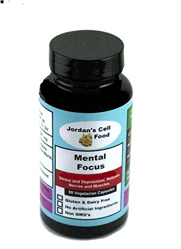 Mental Focus (Similar o Dr. Sebi's Banju) Qty: 90 Capsules 100% Natural