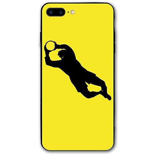 SG ULTIMATE INNO iPhone 8 Plus Case, iPhone 7 Plus Case, Soccer Goalkeeper Pattern Design Bumper Slim Soft Rubber Cover Anti-Scratch Thin Back Protective Phone Case for iPhone 7 Plus / 8 Plus (Soccer Keeper Control)