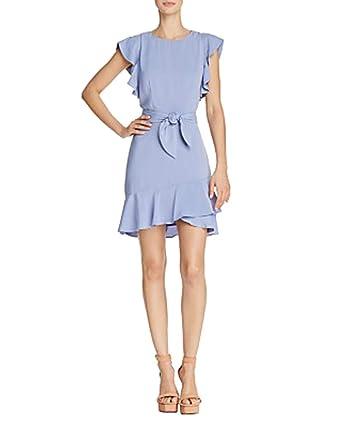 dfb502c981940 Lucy Paris Matilda Ruffled Dress (Blue, XS) at Amazon Women's Clothing  store: