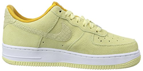 Nike W Air Force 1 '07 Seasonal, Zapatillas de Deporte para Mujer Amarillo (Lemon Drop / Lemon Drop)