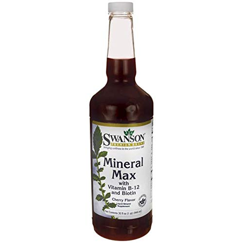 Swanson Mineral Max 32 fl Ounce (1 qt) (946 ml) Liquid