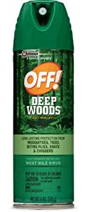 OFF! Deep Woods Insect Repellent 6 ounce (Pack of 2)
