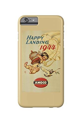 amoco-happy-landing-vintage-poster-artist-leyendecker-joseph-c-c-1943-iphone-6-plus-cell-phone-case-