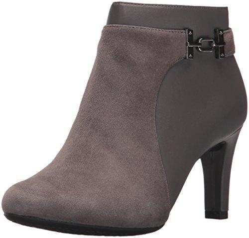 Bandolino Women's Lappo Ankle Boot, Steel, 9.5 M ()