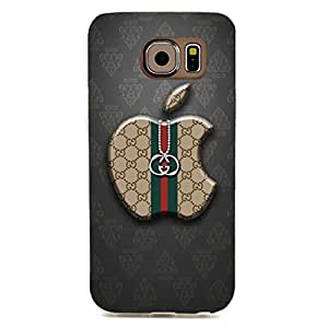 Unique Style Customized GUCCI Logo Phone Case 3D Phone Case Snap on Samsung Galaxy S6 Edge Luxury Logo Series GUCCI Logo