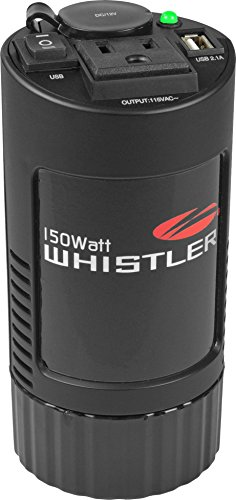 Whistler XP150i Power Inverter: 150 Watt Continuous / 300 Watt Peak Power