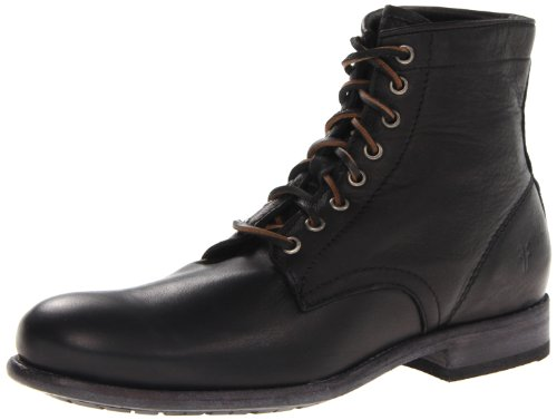 FRYE Mens Tyler Lace-Up Boot Black 1 - 86070 PCKDyD59