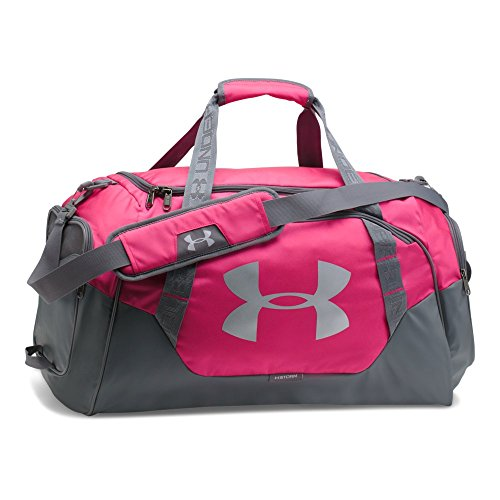 Under Armour Undeniable 3.0 Medium Duffle Bag, Tropic Pink/Graphite, One Size