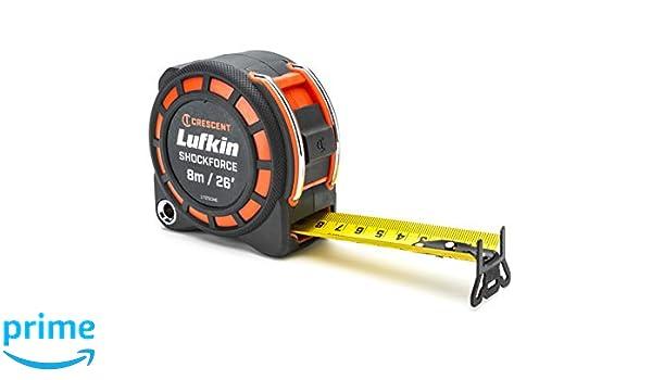 Crescent Lufkin L1116BCM L1116BCM-Cinta m/étrica de Doble Cara 3 cm x 5 m, 30 m de ca/ída