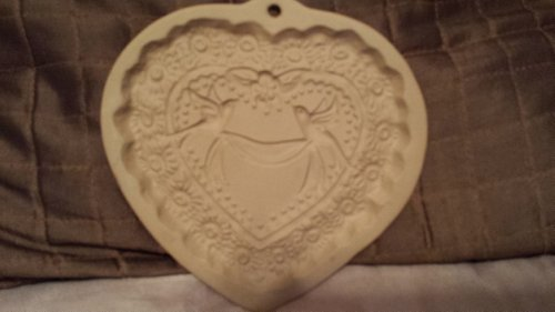 Brown Bag Cookie Art 1985 Shortbread Cookie Mold~Heart Love (Brown Shortbread Cookies)