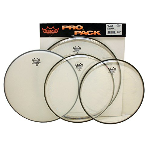 Remo Drum Set, 12-inch (PP0312BE) by Remo