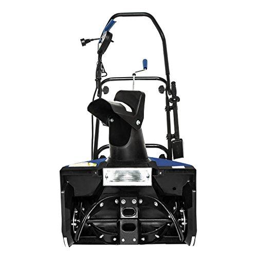 Snow Joe SJ623E Electric Single Stage Snow Thrower   18-Inch   15 Amp Motor   Headlights