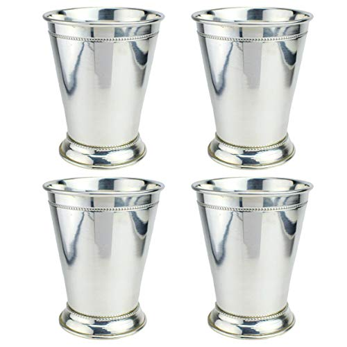 Prince of Scots 100% Pure Copper Mint Julep Cup with Pure Silver Plate (Set of 4) by Prince of Scots (Image #5)