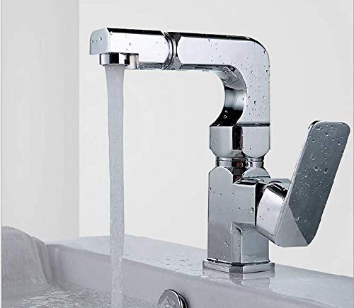 (Washbasin faucet cold and hot water faucet mixed faucet)