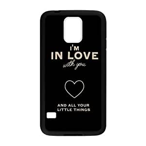 One Direction Quote TPU Back Cover Case for Samsung Galaxy s5(Laser Technology)