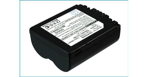 Cargador de batería para Panasonic dmc-fz50eb-s dmc-fz50ee-k dmc-fz50ee-s dmc-fz50ef