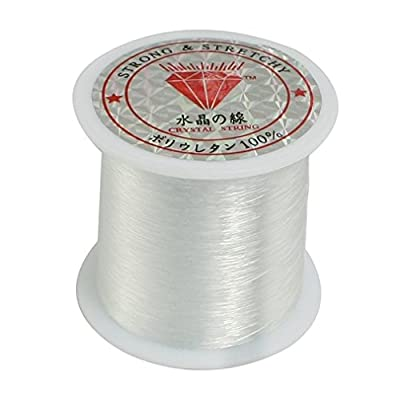 AThumb 0.25mm Fishing Line Clear Nylon Fish Fishing Line Spool Beading String Jewelry Beading Thread for DIY Crafting by AThumb