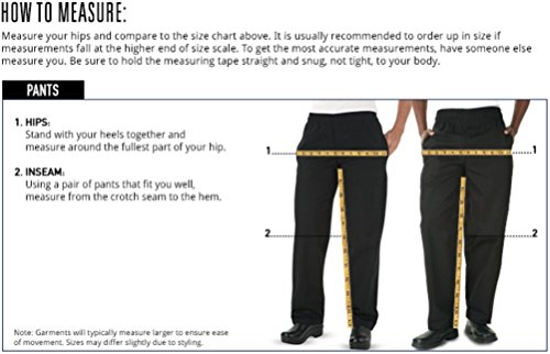 Men's Cargo Chef Pant (XS-4X, Black) (Large) by ChefUniforms.com (Image #3)
