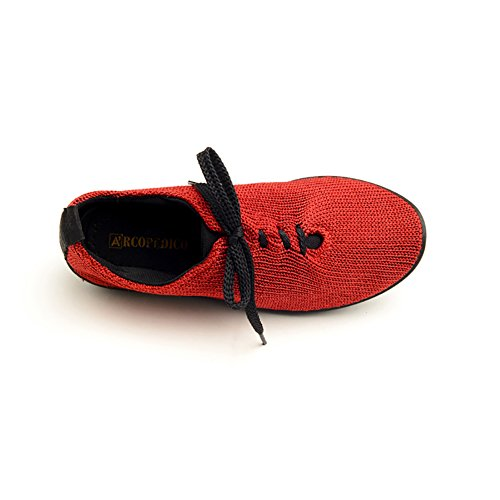 Womens Shoes Red 37 1151 Oxfords Arcopedico LS Size RwEvqF1