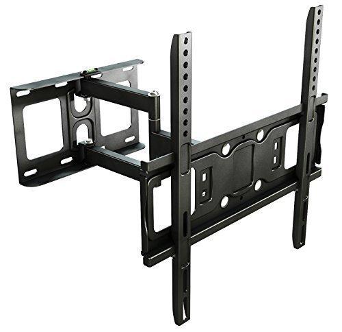 RICOO LCD TV Wandhalter Schwenkbar Neigbar S5144 Schwenkbare Wandhalterung Universal Fernseher VESA Halterung Fernsehhalterung LED Flachbildschirm ca.76-165cm / 30'- 32' - 42' - 47'- 55' - 65' Zoll