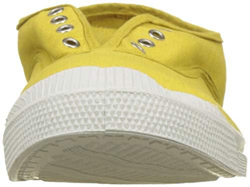 0209 Elly Baskets Jaune Tennis jaune Bensimon Femme pAWRRq