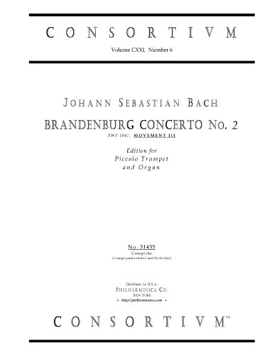 brandenburg concertos sheet music - 4