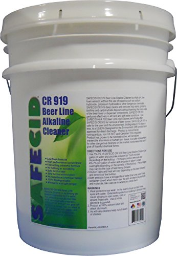 Beer Line Alkaline Cleaner 5 Gallon Pail by PACKFORCE INDUSTRIAL (Image #1)