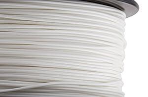 HATCHBOX 3D PLA-1KG1.75-WHT PLA 3D Printer Filament, Dimensional Accuracy +/- 0.05 mm, 1 kg Spool, 1.75 mm, White by HATCHBOX