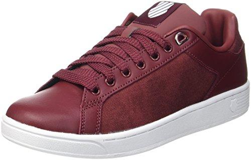 Oxblood Swiss CMF Court K Sneaker Clean White Rot Herren 0d6qwx7