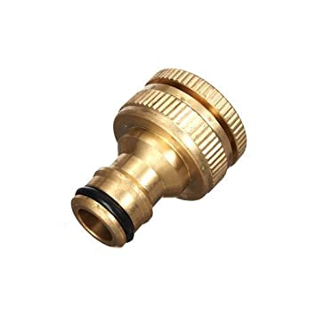 hose connect brass fitting adapter garden quick dw inc product