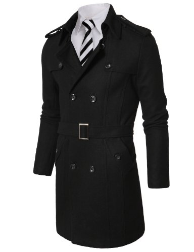 at with Belt BLACK (US-S) (Floral Wool Coat)