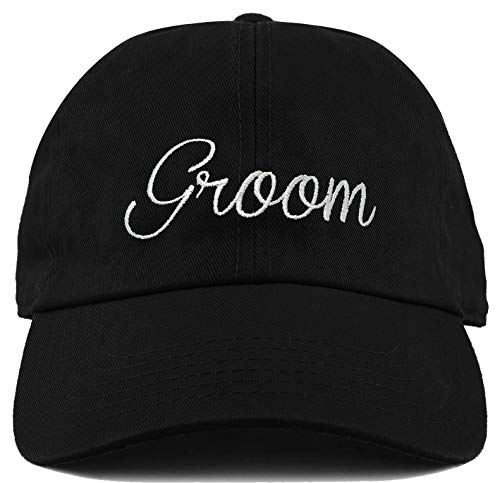 Funky Junque H-214-GROOM06 Dad Hat Low Profile Unconstructed Baseball Cap - Groom ()