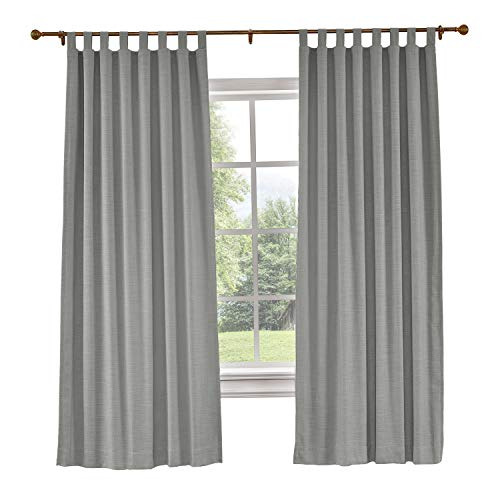 tab top curtains gray - 9