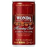 アサヒ ワンダ モーニングショット (185g缶×30本)×3ケース